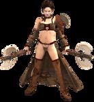 Female Warrior by HZ-Designs