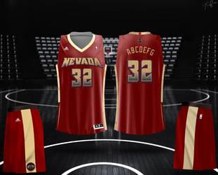 Nevada Rams Uni Mock-Up by HZ-Designs