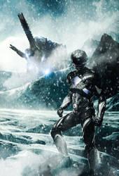 Black Ranger Custom Poster by HZ-Designs