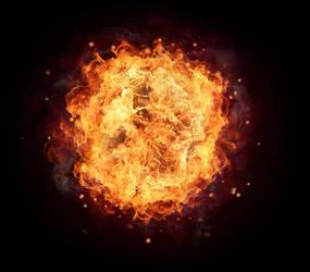 Fire Ball by HZ-Designs
