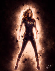 Captain Marvel by HZ-Designs