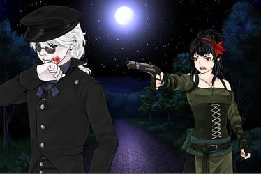 Kai and Sasha by dagger75