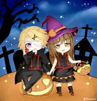 Mystic Messenger Happy Halloween by Yoosung x MC by michi1412