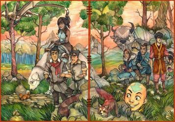 .:Avatar - TLoA and TLoK:. by 25Nanao16