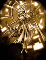 Chozo Guardian runic style by archus7
