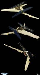 Lego SFX Arwing - Star Fox SNES by archus7