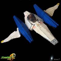 Lego Star Fox Zero Arwing I by archus7