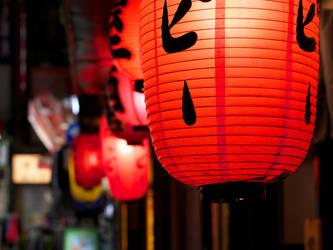 Back-alley lanterns by Nevma