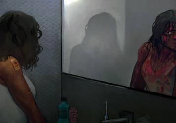 bad dreams by Pheberoni