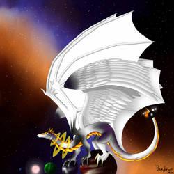 Galaxy Dragon - Star by Beagon