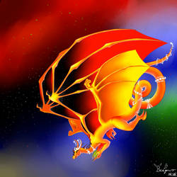 Galaxy Dragon - Creation by Beagon