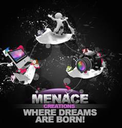 Advertisement work by MrMenace
