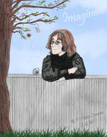 Happy Birthday John Lennon by Bane-Shadows