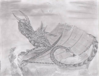 The Great Dragon of Damruun Heights by derp00Spyro