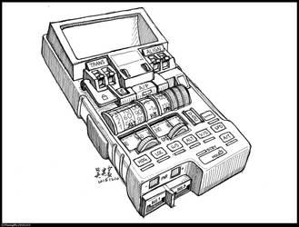 81/365-2 Handheld Autopilot by Nicksbest