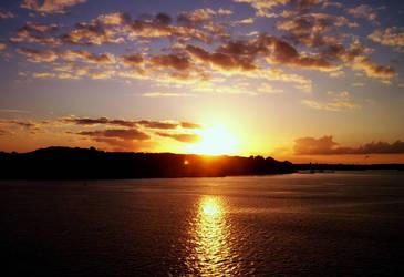 Sunset in Kiel by fediaFedia