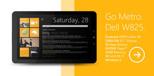 WP7 Dell Tablet concept by fediaFedia