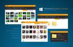 Windows 9 Explorer Concept BETA1 by fediaFedia