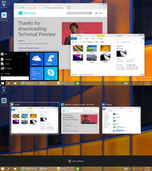 Windows 10 Technical Preview - Build 9841 by fediaFedia