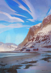 Color Study: Norway by MaR-93