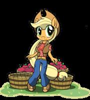Apple Picker by BasilLoon