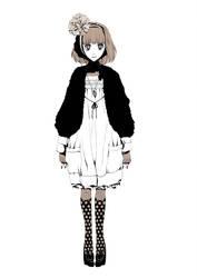 Black cat shoes by melancholinista