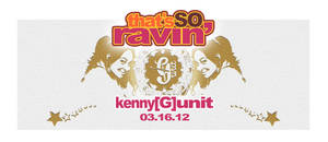 thats so ravin flyer design by penpointred