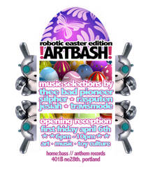 artbash flyer design by penpointred