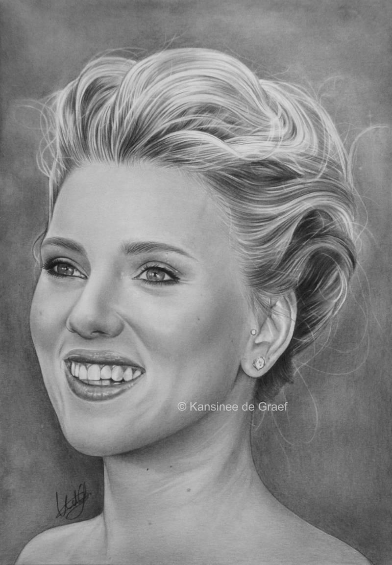 Scarlett Johansson by kansineedegraefart