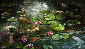 Pond by Fievy