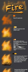 Fire tutorial by Fievy