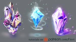Crystals by Fievy