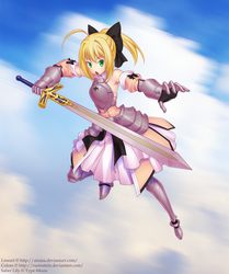 Saber Lily by airana