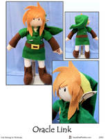 Oracle Link Plushie by SoandSewPlushies