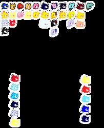 SA3 Life Logos V.7 by TheFireYoshi