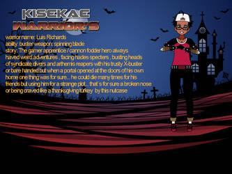 kisekae warrior luis by aniviod2904