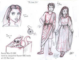 DW- The Stone Rose sketches by Noe-Izumi