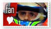 Felipe Massa stamp by Noe-Izumi