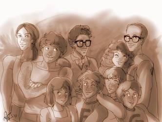 a happy family by Noe-Izumi