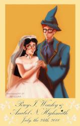 Anabel AU- Wedding portrait 10 years later by Noe-Izumi