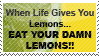 Lemons Stamp by relina1611
