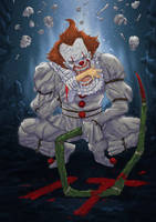 pennywise color by adivider
