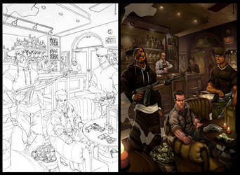 Gangster Bar by -seed-
