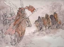 Winged Warriors by Tokala