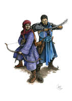 Commission: Sifa and Kobi by Tokala