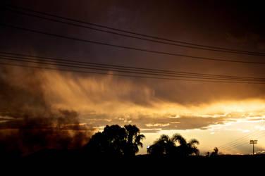 Smoky Sunset by Metamorphosing