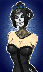 Lady of the Dead by UltimateSushiLord