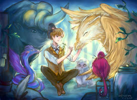 Fantastic Beasts by unfriction