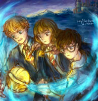 The Golden Trio by unfriction