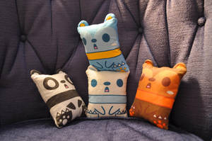 Baby Square Bears by fuish